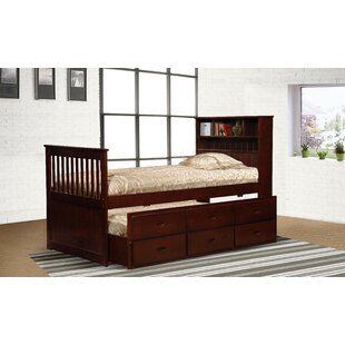 Warner Platform Bed with Trundle and Drawers