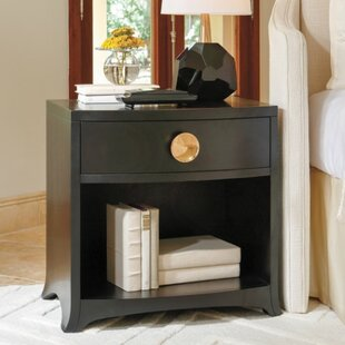 Bow Front 1 Drawer Chest