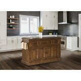 Harris Kitchen Island with Granite Top by Birch Lane™ Heritage