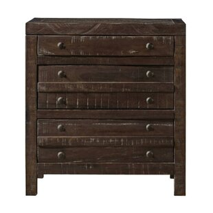 Owatonna Wooden 3 Drawer Nightstand
