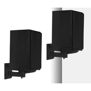 Side Clamping Bookshelf Universal Wall Speaker Mount (Set of 2)
