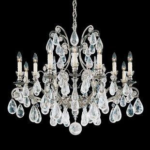 Schonbek Versailles 12-Light Chandelier