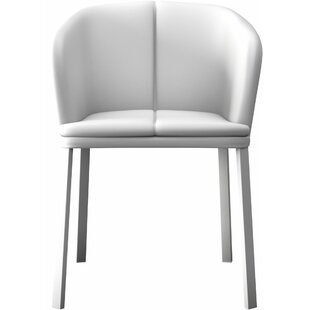 Genuine Leather White Kitchen U0026 Dining Chairs Youu0027ll Love In ...