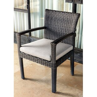 Koger Patio Dining Chair with Cushion (Set of 2)