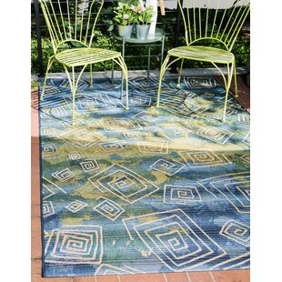 Camdyn Blue Indoor/Outdoor Area Rug