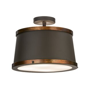 Cilindro Reel 4-Light Semi-Flush Mount by Meyda Tiffany