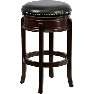 Jenkin Backless 29'' Swivel Bar Stool Charlton Home
