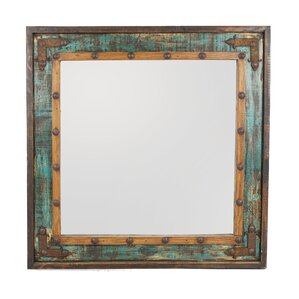 Bathroom Mirror Rustic bathroom & vanity rustic mirrors you'll love | wayfair