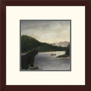 North Woods Bear Ii Print