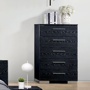 Alayah 5 Drawer Chest by Orren Ellis