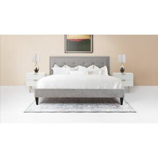 Lexy Modern Upholstered Platform Bed by Jennifer Taylor