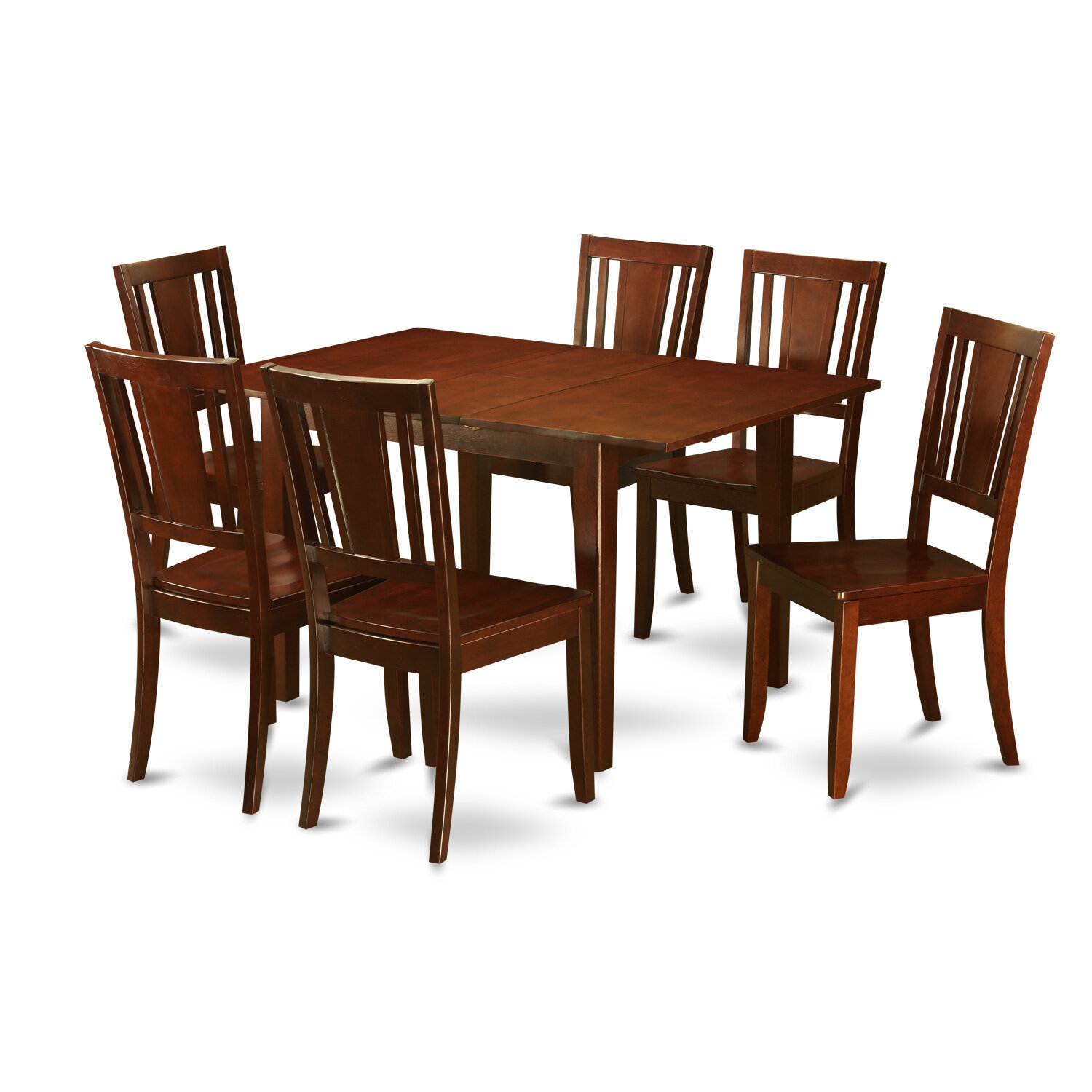 Wooden Importers Milan 7 Piece Dining