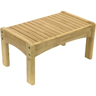 Bamboo Step Stool by Sorbus