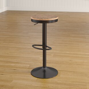Chambord Adjustable Height Swivel Bar Stool