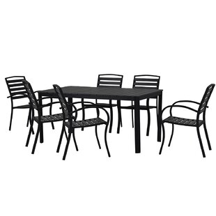 Lofgren Modern Contemporary 7 Piece Dining Set