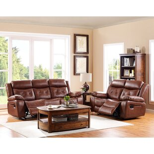 Gohoho Leather Power Reclining Sofa
