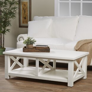 Buy clear Sanderling Coffee Table By Beachcrest Home