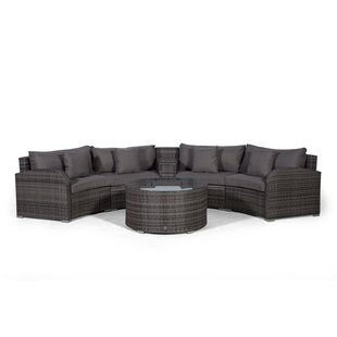 Woody 4 Seater Rattan Conversation Set Image