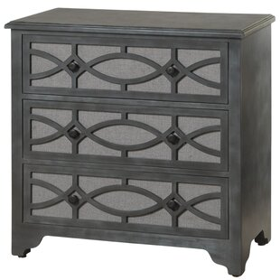Bungalow Rose Burgoyne 3 Drawer Dresser