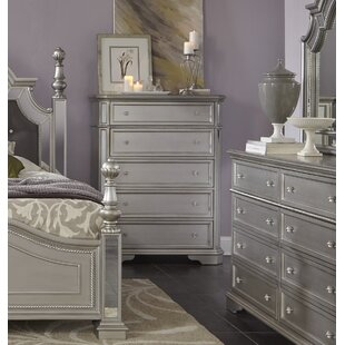 Verne 5 Drawer Chest by House of Hampton