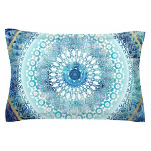 Nina May 'Ornate Boho Mandala' Mixed Media Sham by East Urban Home Best #1