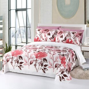 Ruben Eco Friendly Comfortable Floral Rayon Sheet Set