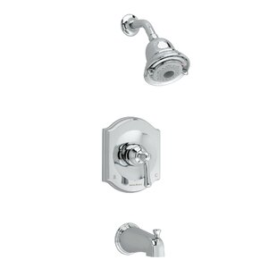 American Standard Portsmouth Flowise Diverter Bath/Shower Faucet Trim Kit with Lever Handle
