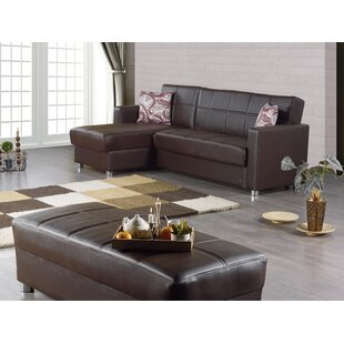Anuja 97 Left Hand Facing Sleeper Sectional with Ottoman