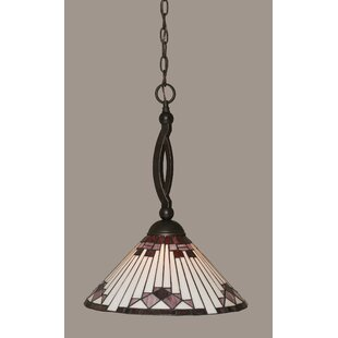 Essonnes 1-Light Cone Pendant by Loon Peak