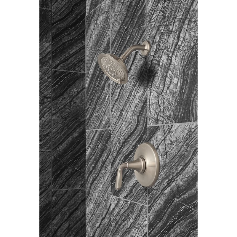 Pfister Northcott 1 Handle Thermostatic Tub And Shower Faucet With Trim Wayfair