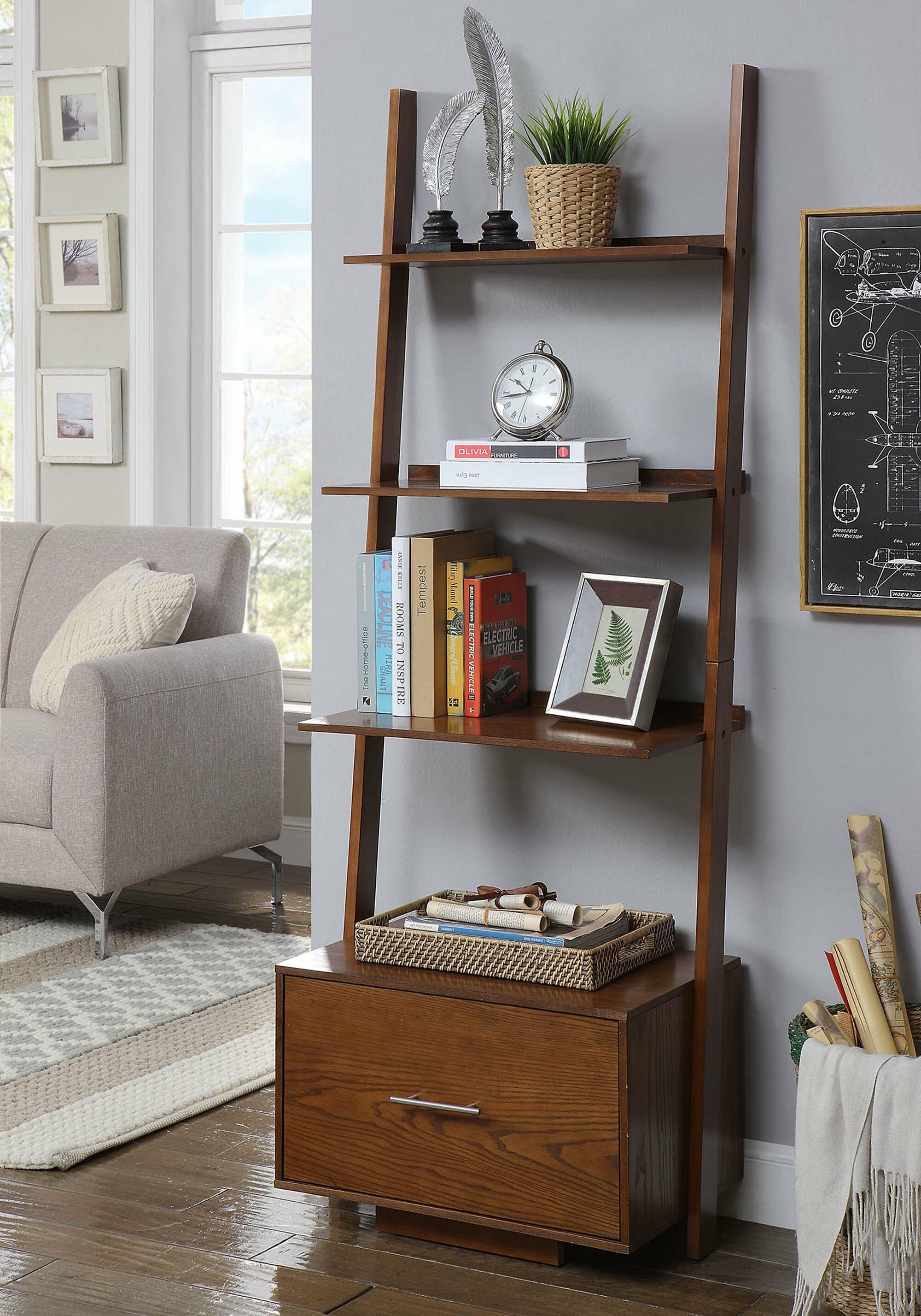 Carlucci Ladder Bookcase