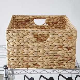 Joss U0026 Main Essentials Woven Hyacinth Storage Basket Set (Set Of 2)