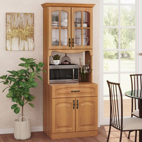 Corner Microwave Cabinet Wayfair
