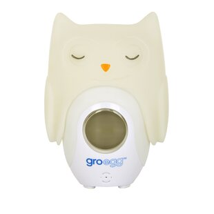 Egg Orla the Owl Shell Night Light