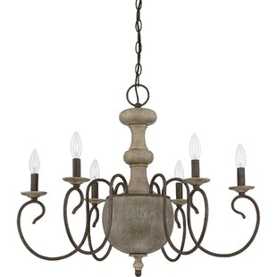 Lark Manor Salette 6-Light Chandelier