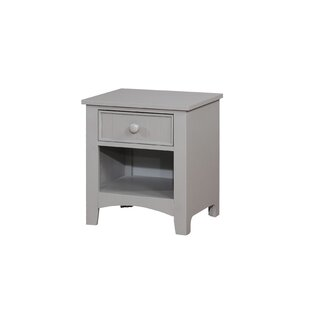 Chilhowie 1 Drawer Nightstand by Three Posts