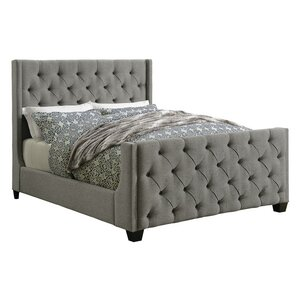 Upholstered Panel Bed by Scott Living