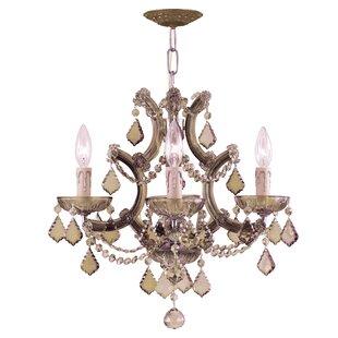 House of Hampton Milan 4-Light Candle Sty..