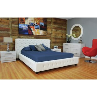 Haskett Eason Button Tufted Platform Configurable Bedroom Set by Brayden Studio