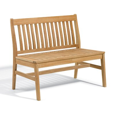 Breakwater Bay Laney Garden Bench Color: Natural