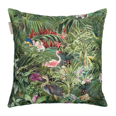 Madura Tropical Cotton Pillow Cover
