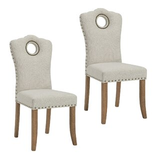 Darby Home Co Bentonville Fabric Upholstered Dining Chair (Set of 2)