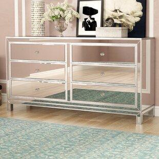 Rosdorf Park Mariaella 6 Drawer Double Dresser