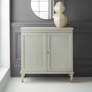 Gustavian 2 Door Accent Cabinet by Modern History Home
