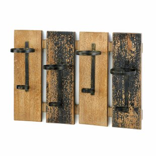 4 Bottle Wall Mounted Wine Rack by Zingz & Thingz