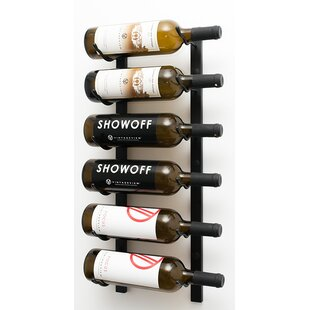 6 Bottle Wall Mounted Wine Rack By Symple Stuff