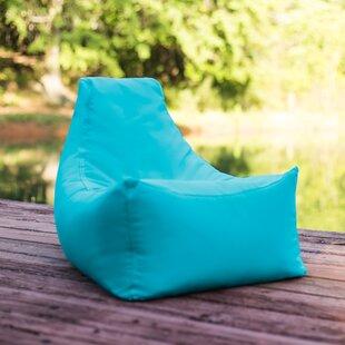 Small Sunbrella® Outdoor Friendly Bean Bag Chair & Lounger By Ebern Designs