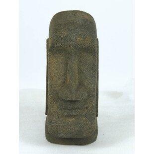 Claytor Tiki Head Statue Image
