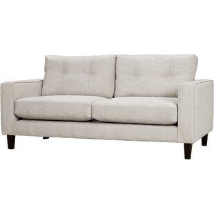 Maya 3 Seater Sofa By Mercury Row