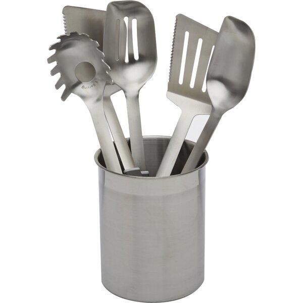 Calphalon Stainless Steel Utensils 6 Piece Utensil Set U0026 Reviews | Wayfair
